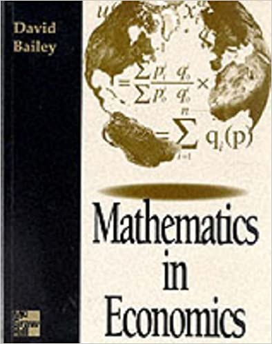 Mathematics For Economics Book