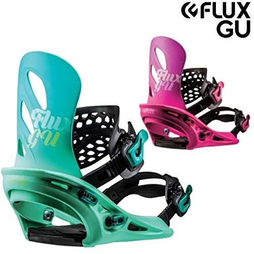 18-19 FLUX/フラックス GU ジーユー レディース ビンディング バインディング スノーボード 2019 XS(22.0~24.5cm) ピンク