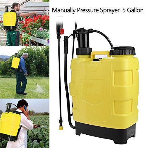 Backpack Piston Pump Sprayer - 9