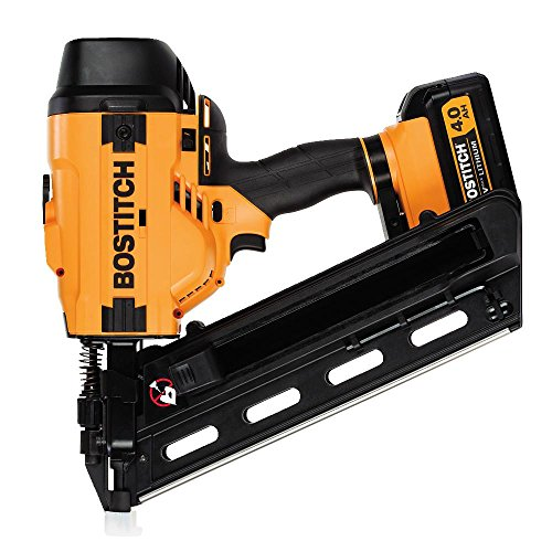 BOSTITCH 20V MAX Cordless Framing Nailer Kit, 28 Degree Wire Weld (BCF28WWM1)
