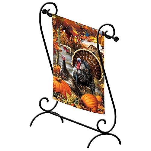 (Gifted Living 20035 Estate Scroll Garden Flagpole)