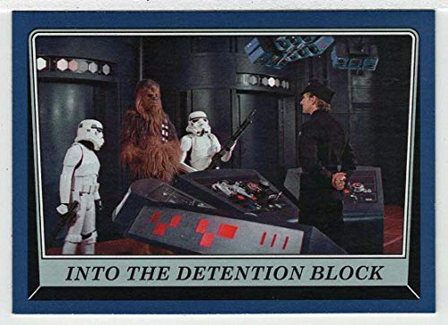 Into the Detention Block - Star Wars: Rogue One Mission Briefing (Trading Card) BLUE Edition # 38 - Topps 2016 Mint