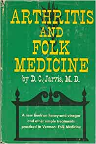 Folk Medicine D.C. Jarvis MD 1960 Hardcover Book Healing Pain Vermont Doctor