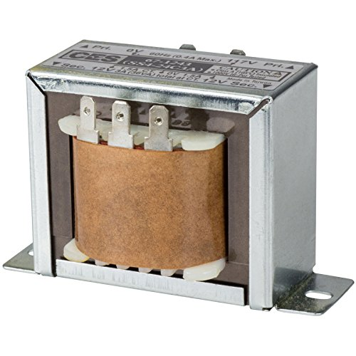 Parts Express 24V CT 3A Power Transformer (12V-0-12V) by Parts Express