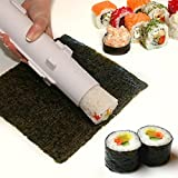 Sushi Roller Kit KE & KA Gadget Easy Sushi Rolls Maker, Rice Roller Sushi Roller Machine