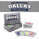 You Gotta Know Dallas - Sports Trivia Game 125 cards and 500 questions