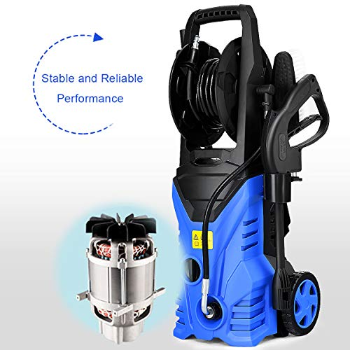 Electric High Pressure Washer Power Machine w/High Pressure Hose (Best Car Wash Machine)