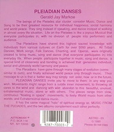 Pleiadian Danses