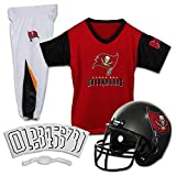 Franklin Sports NFL Tampa Bay Buccaneers Deluxe Youth Uniform Set, Medium