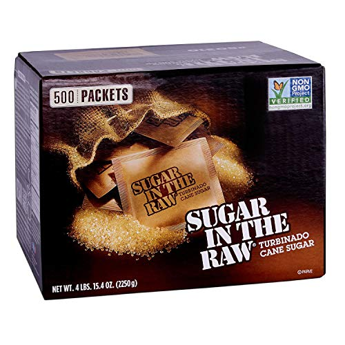 (Sugar In The Raw, 500 Packets 4 LBS,15.4 Ounces)