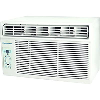 Window-Mounted Air Conditioner with Follow Me LCD Remote Control
