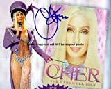 Cher Autographed Preprint Signed 11x14 Poster Photo