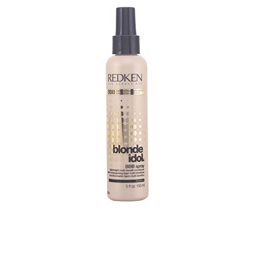 The Best Hair Products For Each Hair Type | Redken Blonde Idol BBB Spray Lightweight Multi-Benefit Conditioner | Hairstyle on Point
