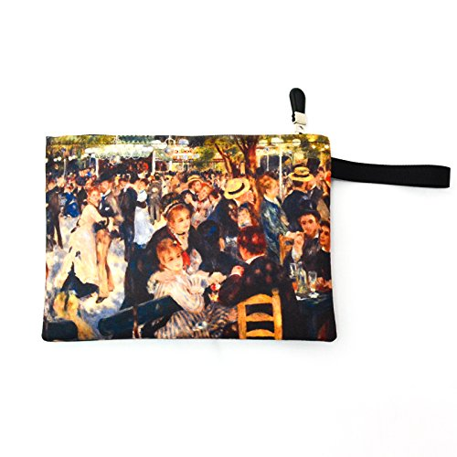 Renoir Paintings Bag Pouch 158 (Spoon Long Sleeve T-shirt)