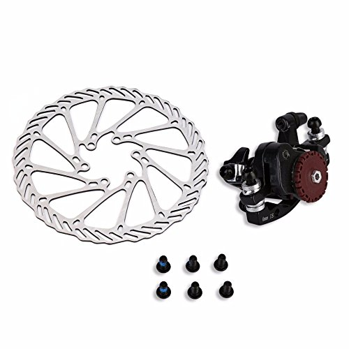 BB7 MTB Bike Brakes Disc Caliper Mechanical Front Wheel 160mm Rotor by Isguin