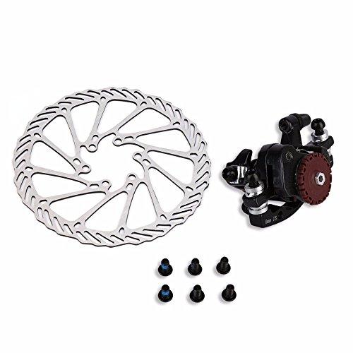 BB7 MTB Bike Brakes Disc Caliper Mechanical Front Wheel 160mm Rotor by Isguin (Image #4)