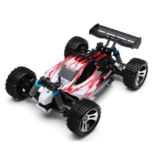 (Wltoys A959 Rc Car 1/18 2.4Gh 4WD Off-Road Buggy)
