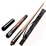 Club 21 147 BLP Cue with Extension and Black Quater Cover Combo
