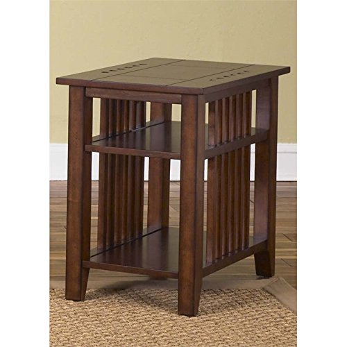 Liberty Furniture Prairie Hills Side Table in Satin Cherry Liberty Furniture Cherry End Table