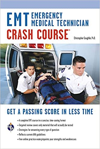 emt crash course book + online (emt test preparation): 9780738610061 ...