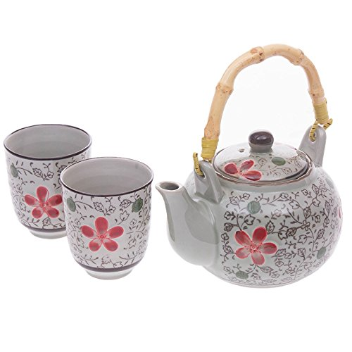 teapot and cups set for two - 9