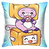 Lankybox Decorate Bed Pillowcases Boxy and Foxy