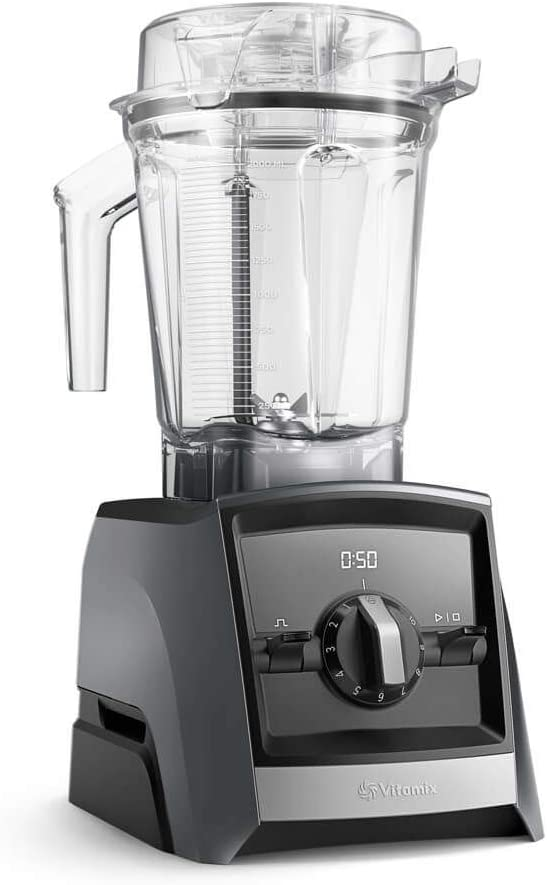 Vitamix Ascent 2300i Batidora vaso, 1400 W, 2 litros, Libre BPA, Pizarra