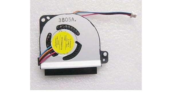 FixTek Laptop CPU Cooling Fan Cooler for Toshiba Portege Z935-st4n07