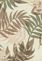 Elegant Fern Vinyl Tablecloth, 60x72 Oblong (Rectangle) [Kitchen]