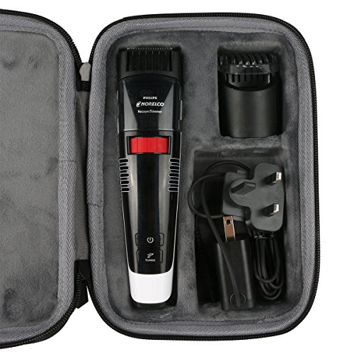 hatd travel case for philips norelco beard trimmer series 7200 7300 7100 3100 hair cut haircut. Black Bedroom Furniture Sets. Home Design Ideas