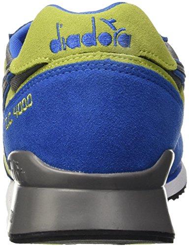 I Sandalias para Verde Plataforma II Nyl c Azul Hombre Diadora con 4000 dw0P8XUdaq