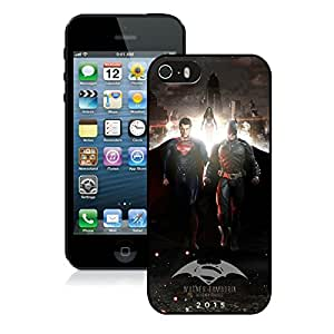 Popular iPhone 5 5S Case ,Unique And Lovely Designed With Superman And Batman Black iPhone 5 5S High Quality Cover