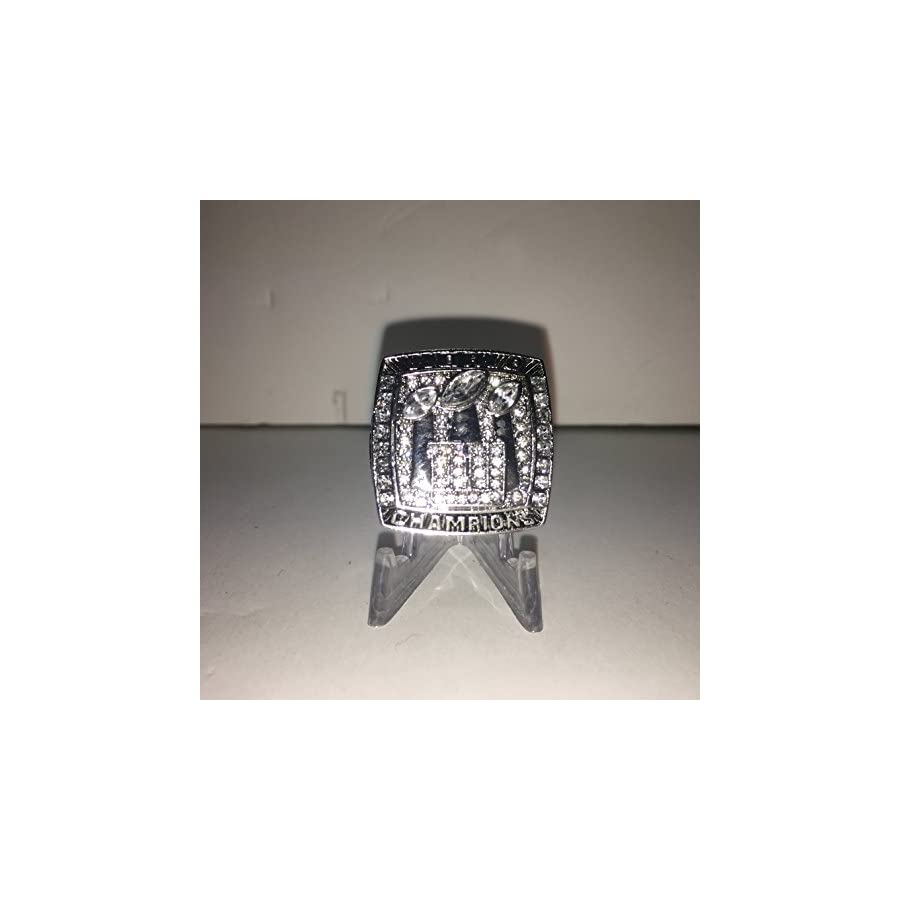 Eli Manning #10 New York Giants NY High Quality Replica 2007 Super Bowl SB XLII Ring Size 10