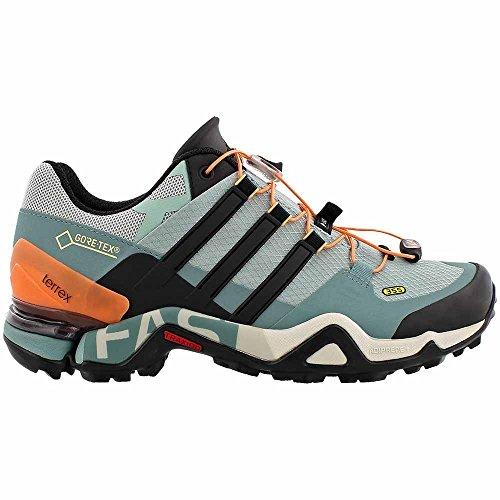 Adidas Outdoor Womens Terrex Veloce R Gtx W Verde Tattile, Nero, Acciaio Vapore