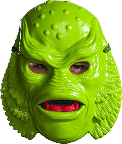 as Shown Rubies Costume Mens Standard Creature from The Black Lagoon Mask One Size