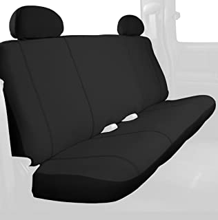 Charcoal Black Designcovers Chevy Truck Seat Covers Fits 2014 to 2018 Chevrolet Silverado with Your Choice of Name Side Airbag Friendly 22 Color Options