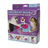 Company of Animals Cat Treat Maze Plastic Interactive Treat Dispenser