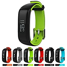 Fitness Activity Tracker,Nasion.V Health Tracker with Blood Pressure Heart Rate Monitor Smart Bracelet Watch Exercise Walking Pedometer Reminder for iOS 8.0 and Android 4.3 or above Smart phone