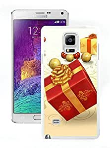 Popular Sell Merry Christmas White Samsung Galaxy Note 4 Case 62