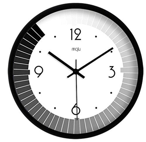 Teng Peng Reloj de pared - arte creativo simple moderno salón reloj de pared mudo reloj de pared vanguardista, dormitorio,...