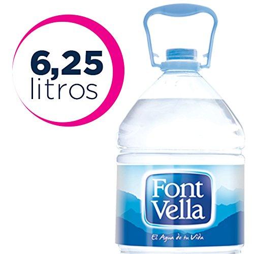 Font Vella Agua Mineral Natural - Garrafa 6,25 l: Amazon.es: Amazon Pantry