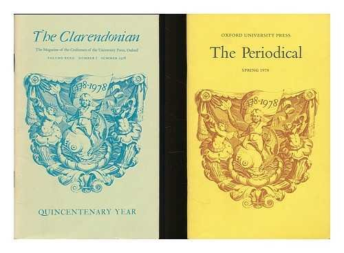 Promotional Oxfords - Oxford University Press : collection of journals, promotional material and ephemera, 1978-2007