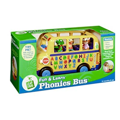 LeapFrog: Fun and Learn Phonics Bus: Toys & Games