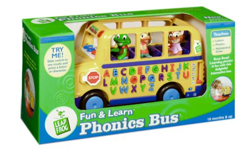 LeapFrog: Fun and Learn Phonics Bus by None