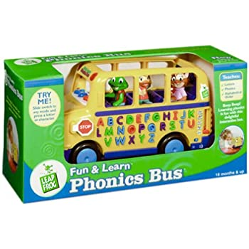Amazon Com Leapfrog Fun And Learn Phonics Bus Toys Amp Games