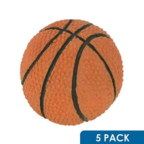 5 Pack Rok Hardware Go Team Collection Basketball Sport Cabinet Kitchen Home Decor Hardware Drawer Door Knob (Basketball Drawer)