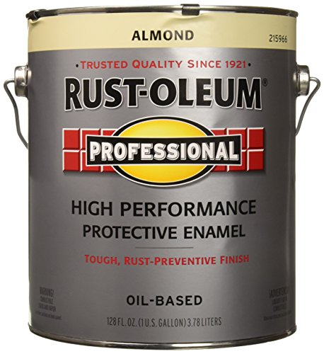 RUST OLEUM 215966 Voc Almond Paint Gallon