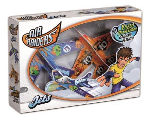 Giro 80046 - Superflyers Microgliders, 2 aviones medianos 21113 air raiders