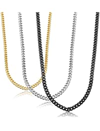 Jstyle Stainless Steel Link Curb Chain Necklace for Men...