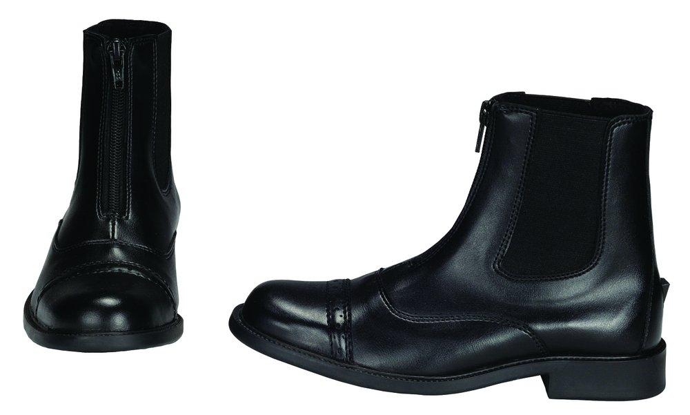 Amazon.com: TuffRider Kid's Starter Front Zip Paddock Boots ...
